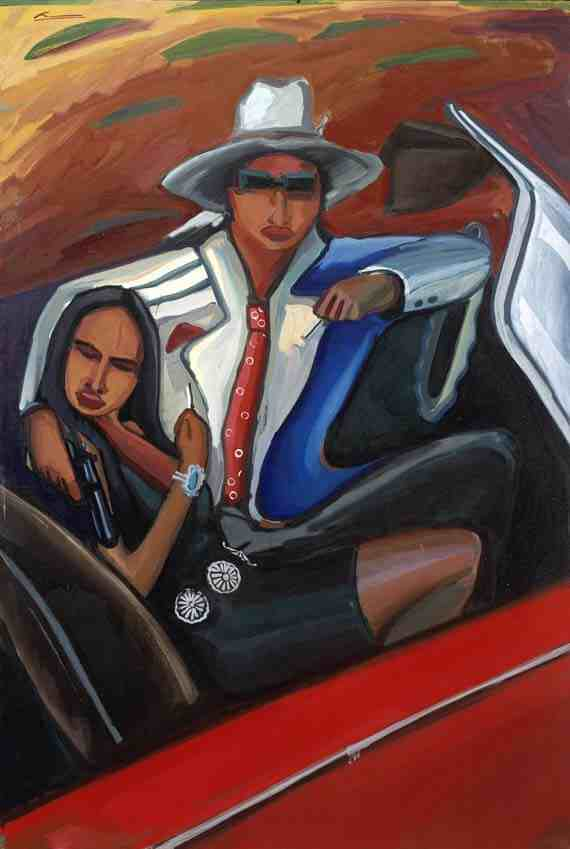 Mateo Romero, Cochiti, Bank Job (Bonnie and Clyde Series #2)