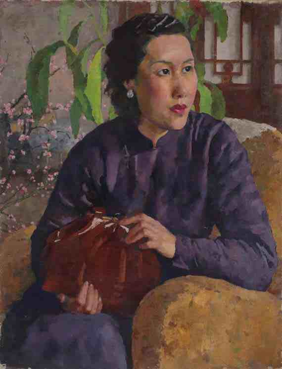 Xu Beihong: Portrait of the Artist's Wife