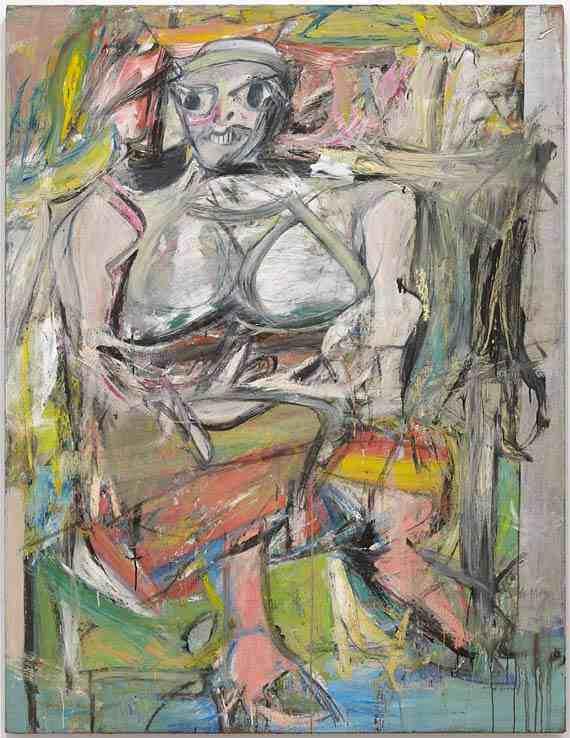 de Kooning: Woman I