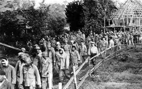 Dien Bien Phu, French prisoners