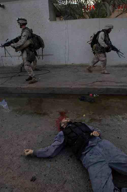 Falluja: Dead insurgent