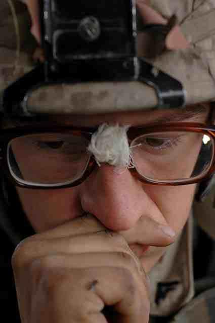 Falluja: Lance Corporal Alex Saxby