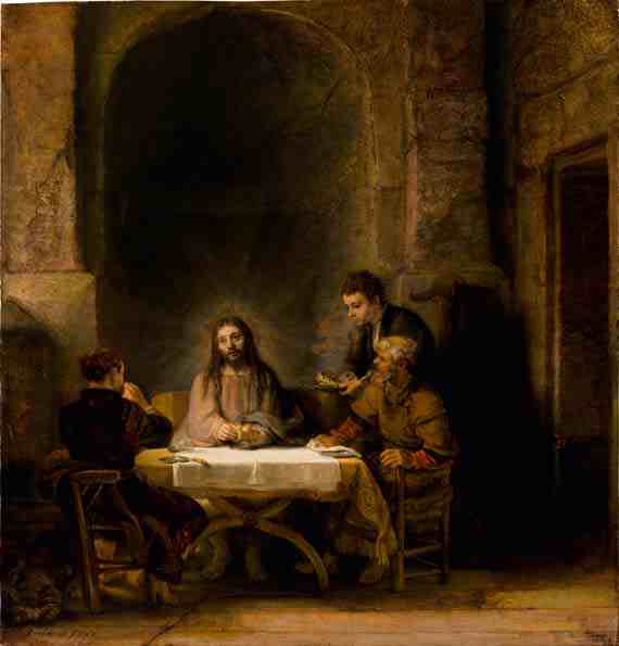 Rembrandt: The Supper at Emmaus