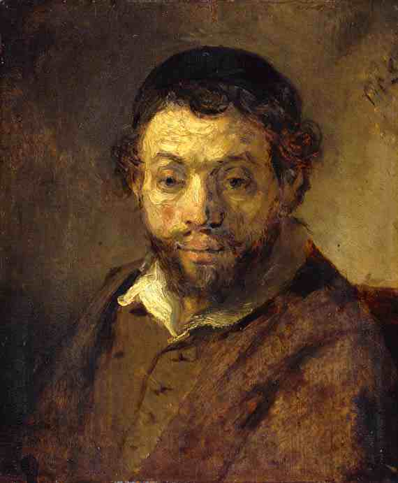 Rembrandt: Portrait of a Young Jew