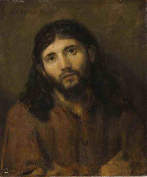 Rembrandt: Head of Christ