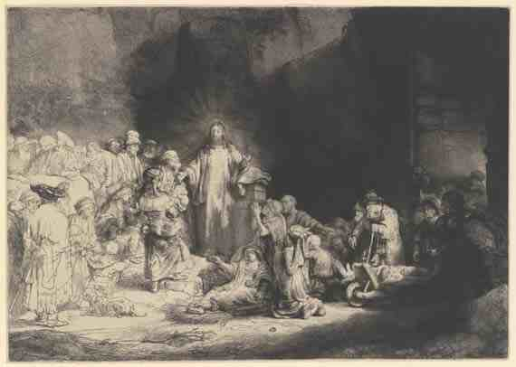 Rembrandt: The Hundred Guilder Print