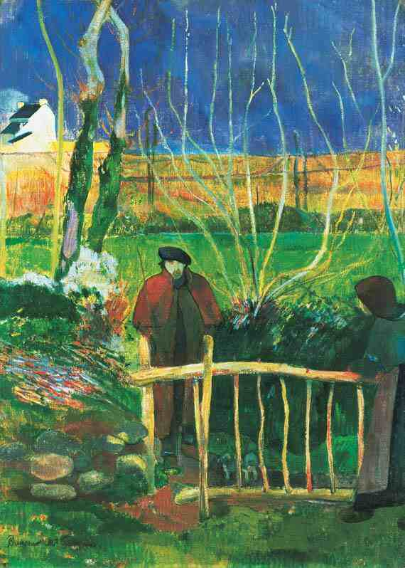 Paul Gauguin: Bonjour Monsieur Gauguin