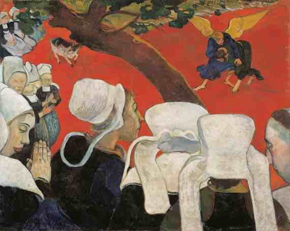 Paul Gauguin: Vision of the Sermon