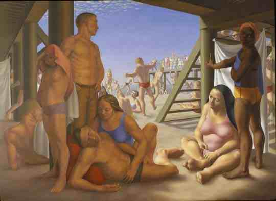 George Tooker: Coney Island