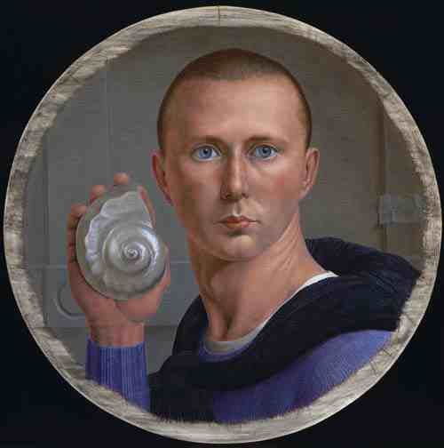 George Tooker: Self Portrait