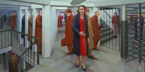 George Tooker: Subway
