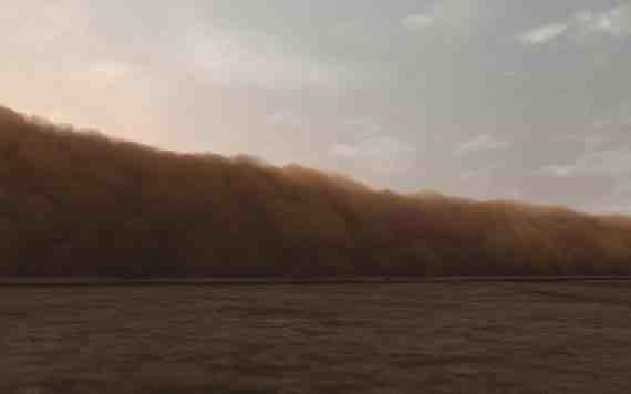 John Gerrard: Dust Storm (Dalhart Texas)