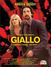 Giallo movie poster