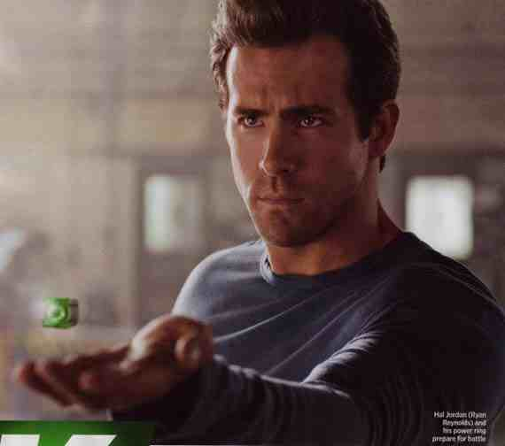 Ryan Reynolds as Hal Jordan