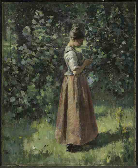 Theodore Robinson, In the Grove