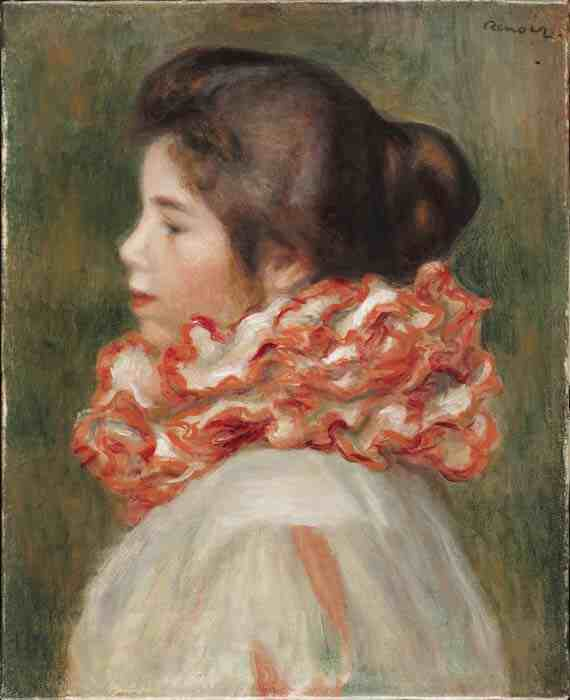 Renoir: Girl in Red Ruff