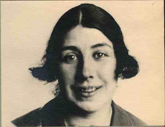 Portrait of Lyubov Popova by Aleksandr Rodchenko