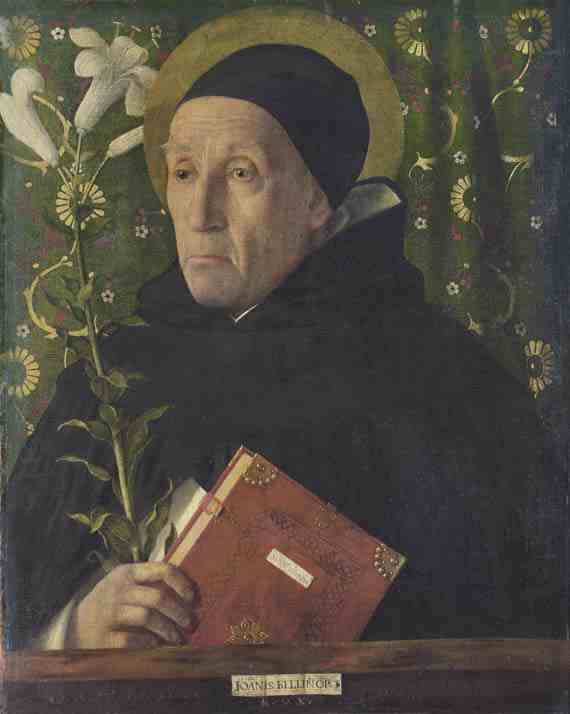 Giovanni Bellini: Fra Teodoro of Urbino as Saint Dominic