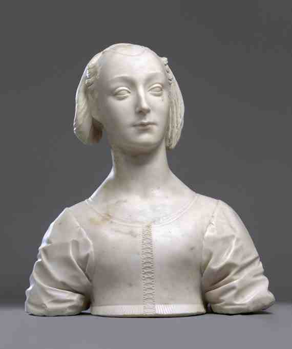 Desiderio da Settignano: Bust of a Young Woman
