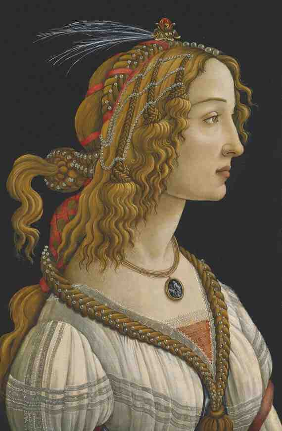 Sandro Botticelli: Ideal Portrait of a Lady