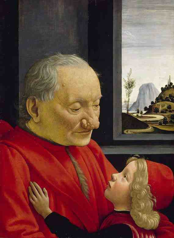 Domenico Ghirlandaio: Portrait of an Old Man and a Boy