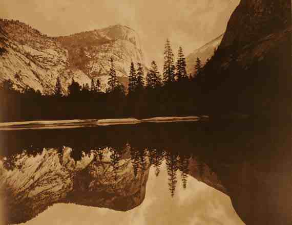 Eadweard Muybridge - Mirror Lake