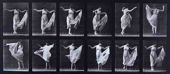 Eadweard Muybridge: Plate 187 (fancy)