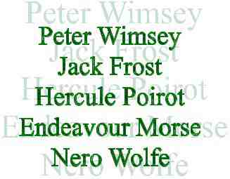 Detective Names