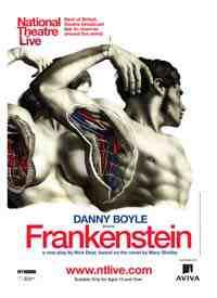 Theatre poster: Frankenstein