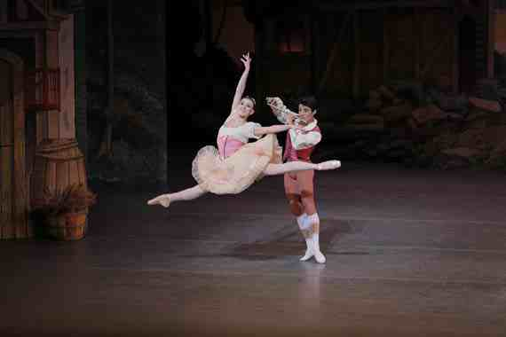 Tiler Peck and Joaquin De Luz in The Magic Flute