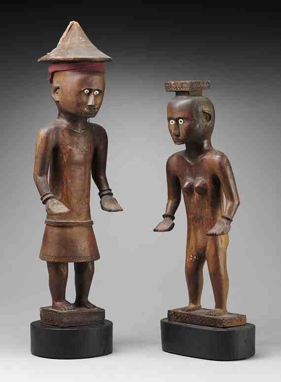 Male and female figures