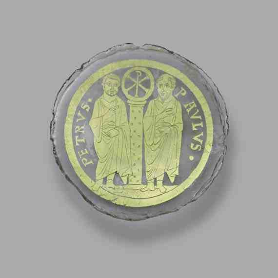 byzantium glass bowl