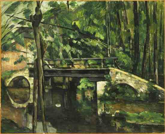 Cezanne: Pont de Maincy