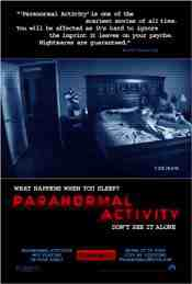 Movie Poster: Paranormal Activity