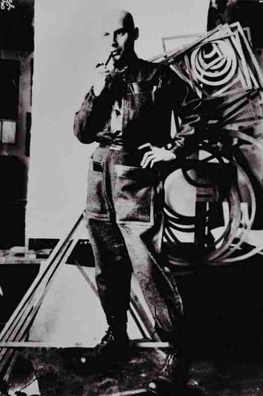Mikhail Kaufman photograph of Aleksandr Rodchenko