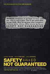 Movie Poster: Safety Not Guaranteed