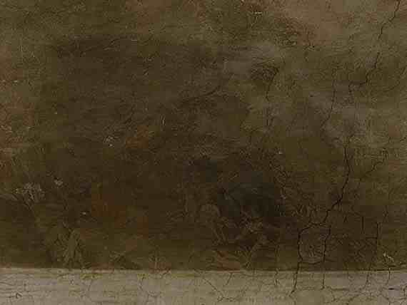 Paul Bril landscape before restoration