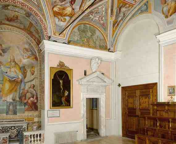 San Silvestro Chapel after restoration