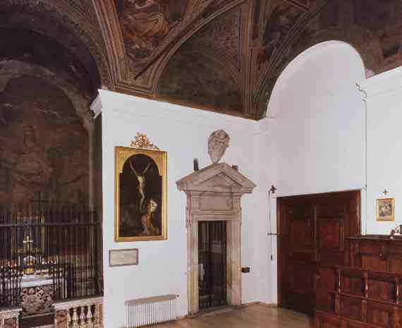 San Silvestro Chapel before restoration