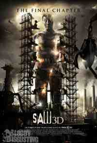 Movie Poster: Saw 3D