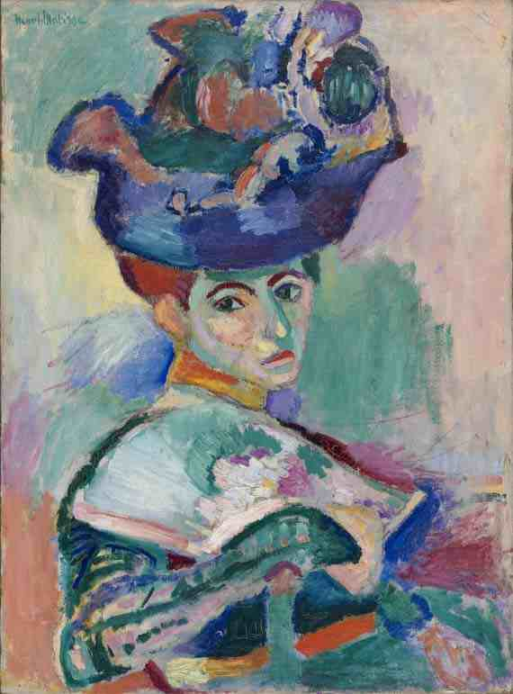 Henri Matisse, Woman with a Hat
