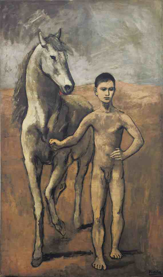Pablo Picasso, Boy Leading a Horse