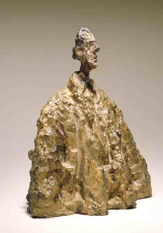 sculpture, Giacometti: Diego in a Cloak