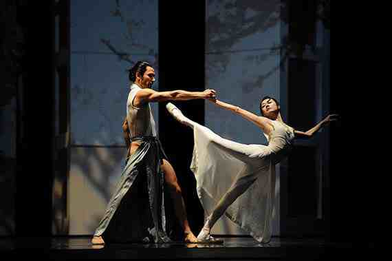 Yuan Yuan Tan and Damian Smith in Possokhov's RAkU