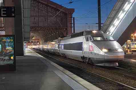 France TGV train