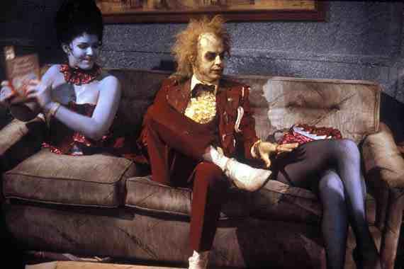 Tim Burton Beetlejuice, Michael Keaton
