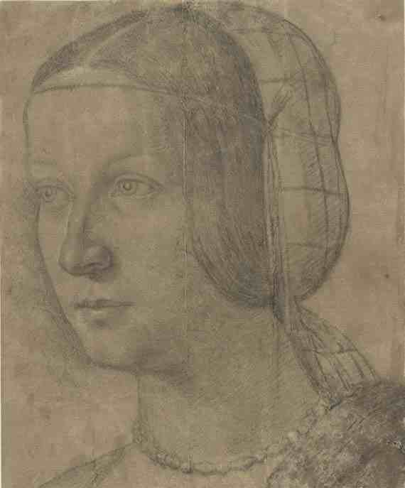 Portrait of a Woman with Hairnet