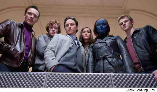 Cast: X-Men: First Class