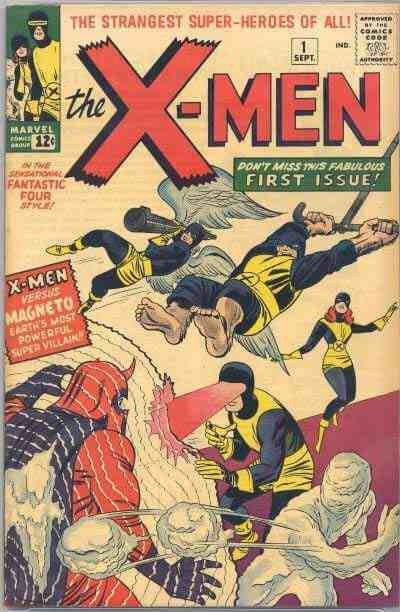 First Issue X-Men comic