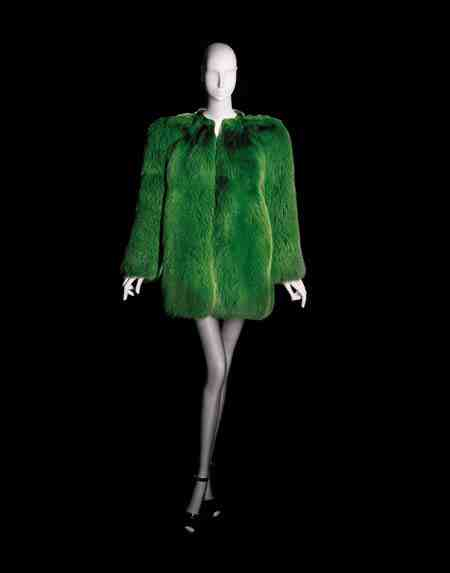 Yves Saint Laurent, Short Evening Coat